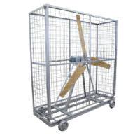 Circulador de ar com 1 hélice - Lasil Equipamentos para Cerâmica