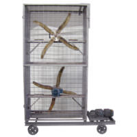 Circulador de ar com 2 hélices - Lasil Equipamentos para Cerâmica