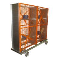 Circulador de ar com 4 hélices - Lasil Equipamentos para Cerâmica