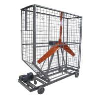 Circulador de ar com 1 hélice com motor - Lasil Equipamentos para Cerâmica