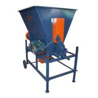 Queimador de serragem com uma saída com catraca - Lasil Equipamentos para Cerâmica